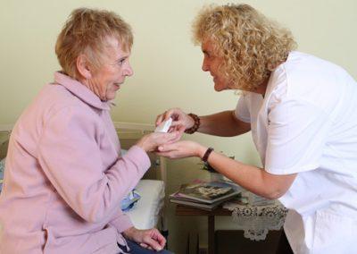 Gut versorgt sein durch die ambulante Altenpflege.